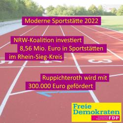 NRW investiert 8,56 Mio. Euro in Sportstätten