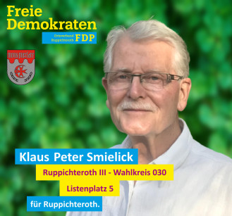 Wahlbezirk 030 - Klaus-Peter Smielick (FDP)