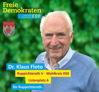 Wahlbezirk 050 - Dr. Klaus Floto